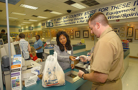 SNAP benefits help millions of low-income Americans put food on the table each month. (Martin Maddock/Wikimedia Commons)