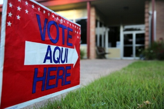 Texas will be the first state to hold a primary in the 2018 midterm elections, and voters will have to navigate a new Voter ID law that took effect on Jan. 1. (JohnMoore/GettyImages)