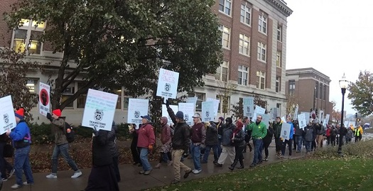 The University of Minnesota has been negotiating a contract with 1,500 members of Teamsters Local 320 since last spring. (Teamsters Local 320)