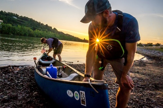 Veterans, including West Virginia's Matt Kearns, are calling on another vet, Interior Secretary Ryan Zinke, to protect public lands. (Chad Cordell)