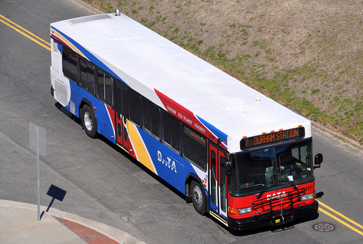 Leaders from cities such as Durham and Raleigh are asking Washington for more support in developing public transit options. (James Willamor/flickr)