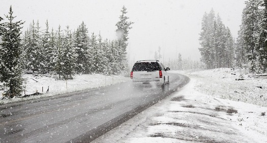 Salt makes winter roads safer, but harms rivers, streams and drinking water, according to the Chesapeake Bay Foundation. (Pexels/Pixabay)