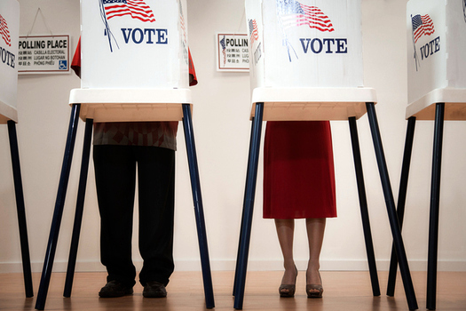 An unprecedented number of LGBTQ candidates will be on the ballot in the March 6 Texas primary elections. (Bland/GettyImages)