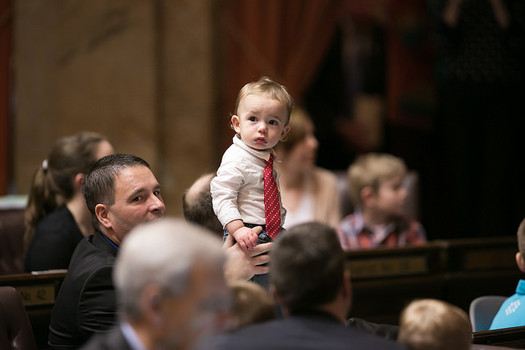 The Legislature is considering a bill that would expand eligibility for the state's pre-K program. (Washington State House Republicans/Flickr)