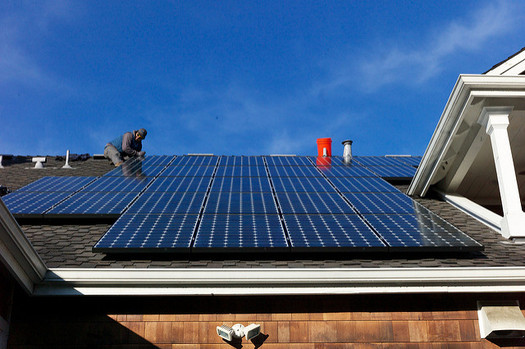 Kentucky ranks 40th nationally for solar installed, which includes about 3,000 homes. (Jon Callas/Flickr)