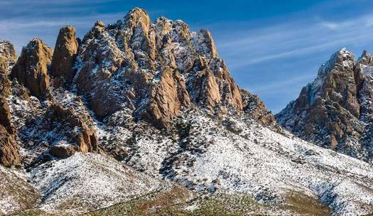 New Mexico's Organ Mountains-Desert Peaks is one of many national monuments that some military veterans consider places of solitude. (conservation lands.org)