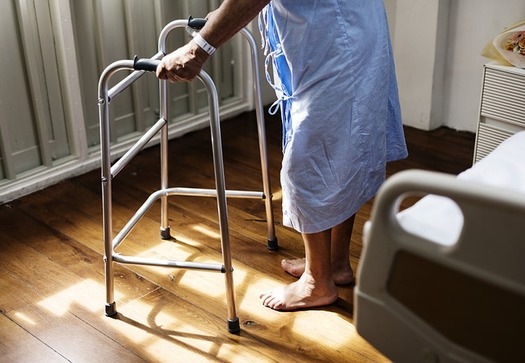 Researchers say most of the Medicaid program expense comes from enrollees who are elderly or have a disability. (rawpixel/Flickr)