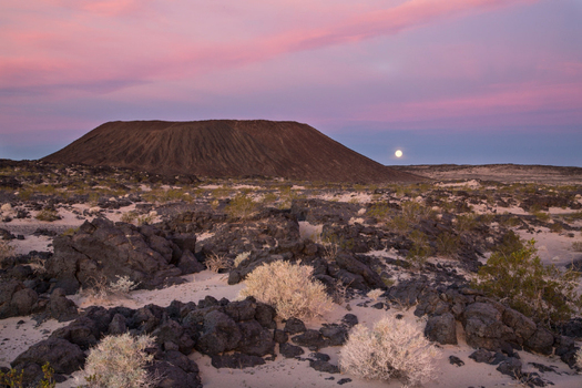Hotels near Mojave Trails National Monument say they've seen an uptick in business since the park was created two years ago today. (BLM)