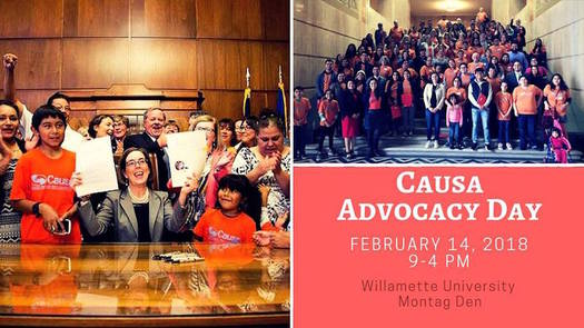 The immigrant rights group Causa is advocating for the passage of Senate Bill 1563 by Oregon lawmakers. (Courtesy of Causa)