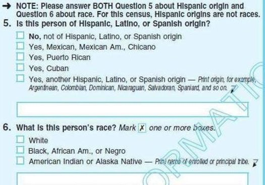 Critics say a citizenship question proposed for the 2020 census could lead to a large undercount of Latinos. (U.S. Census Bureau)