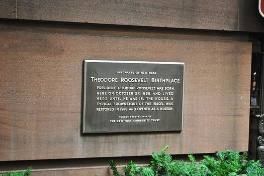 In 2016 alone, National Park Service sites, such as the Theodore Roosevelt Birthplace National Historic Site in New York City, contributed $35 billion to the U.S. economy. (Elisa.rolle/Wikimedia Commons)