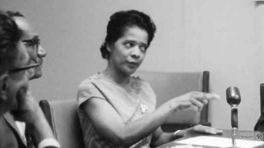 Vel Phillips is the first black woman to graduate from a Wisconsin law school. She is the first woman and the first African-American to be elected Secretary of State and later was elected as a judge. (WI Dept. of Public Instruction)