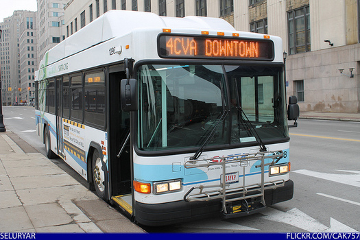 There are 61 transit systems in Ohio serving an estimated 3 million people each weekday. (Raymond Wambsgam/Flickr)