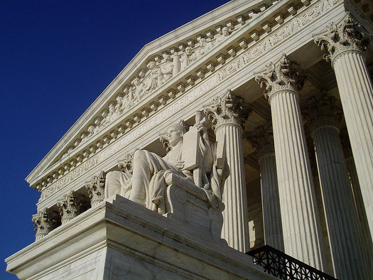 Public employee unions could see a hit to revenue if the U.S. Supreme Court decides against them. (Matt Wade/Flickr)