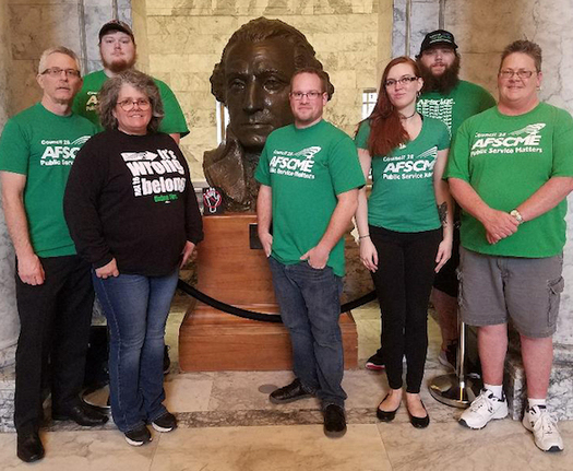 Public-employee unions in Washington state could take a financial hit if the U.S. Supreme Court sides with an Illinois worker in his case against AFSCME. (WFSE)