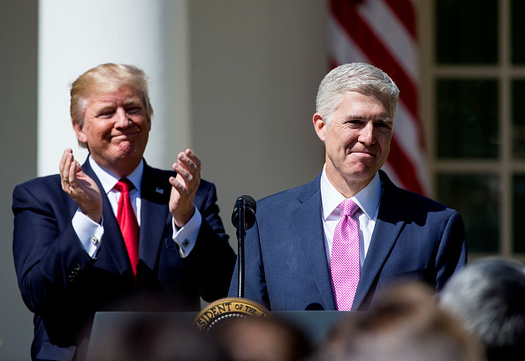 The addition of Neil Gorsuch to the U.S. Supreme Court could tip the scales in Janus v. AFSCME. (Getty Images)
