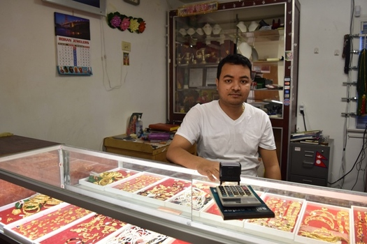 Bhakti Gajmer spent 17 years in a refugee camp in Nepal. He now operates Akron�s Rohan Jewelers with his brother Binod. (Royzman)