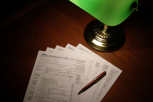 More than 19,000 people received free tax-filing help from the AARP Foundation Tax-Aide Program in New Hampshire last year. (Chris Potter/Flickr)