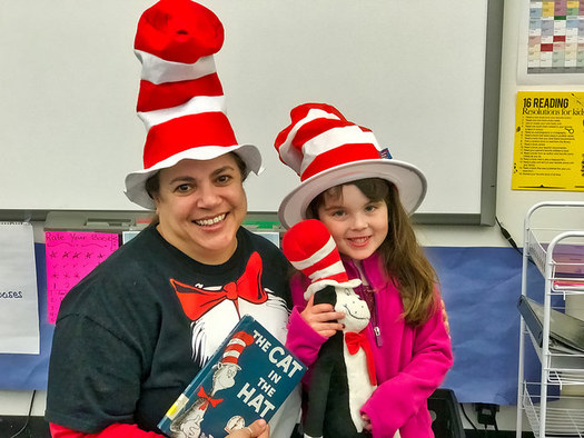 Some 45 million kids and adults in the U.S. will participate in Read Across America Day.(K.W. Barrett/Flickr)