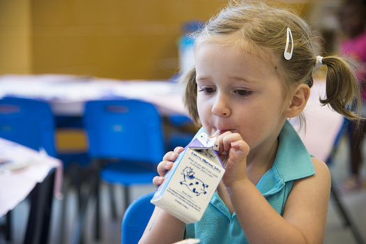 For some kids, a school breakfast is their only opportunity to have a complete, nutritious meal. (USDA)