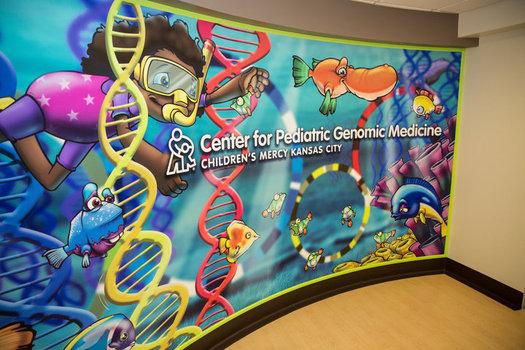 The Center for Pediatric Genomic Medicine at Children's Mercy was established in 2011. (Children's Mercy Kansas City)