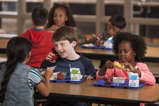 The School Breakfast Program helps prepare students' minds for learning. (U.S. Department of Agriculture/Flickr)