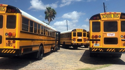 """The state of Texas is warning school districts that busing students to polling places could constitute """"illegal electioneering."""" (Pixabay)"""