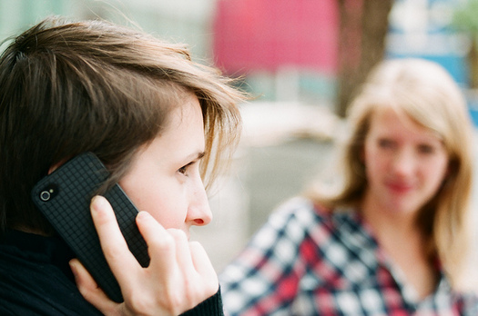 Experts suggest sharing information on a suspicious call with a friend before you share any financial information. (uncoolbob/flickr)