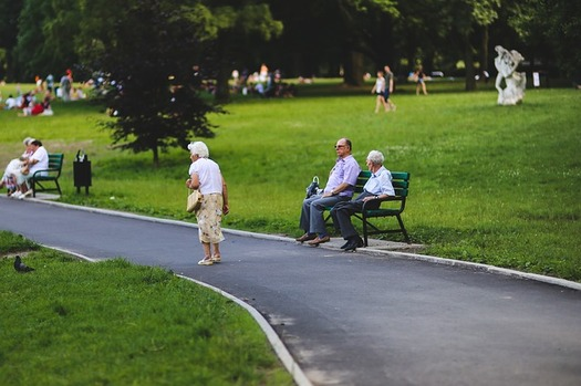 AARP is making 12 stops across Oregon to hear from people on how to make communities more age-friendly. (kaboompics/Flickr)