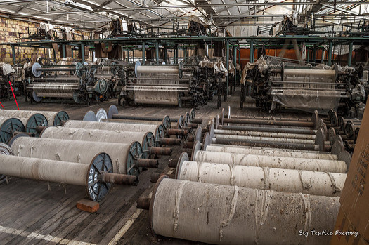 Tennessee leads the country in man-made textiles, and the industry is growing. (darkday/Flickr)