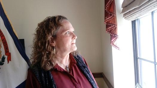 Julie Schleier of Parkersburg says Obamacare may have saved her life. (Dan Heyman)