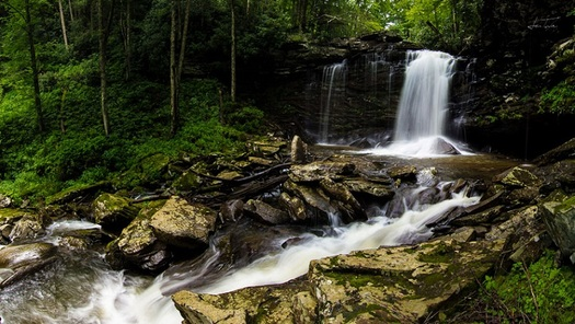 The outdoor recreation industry says public lands are key to West Virginia's economic future.(Birthplace of Rivers/Sam Taylor)