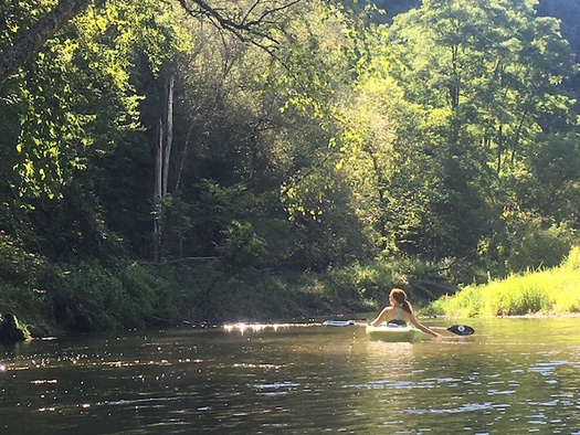 The Kinnickinnic River is popular for kayaking, trout fishing and more. (Friends of the Kinni)