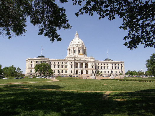 Students from across Minnesota will converge on the State Capitol to talk about climate change this Wednesday, April 25. (Jim Bowen/Flickr)