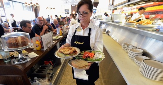 The state minimum wage in New Mexico is $7.50 per hour, but Santa Fe's minimum hourly wage is $11.40. (epi.org)