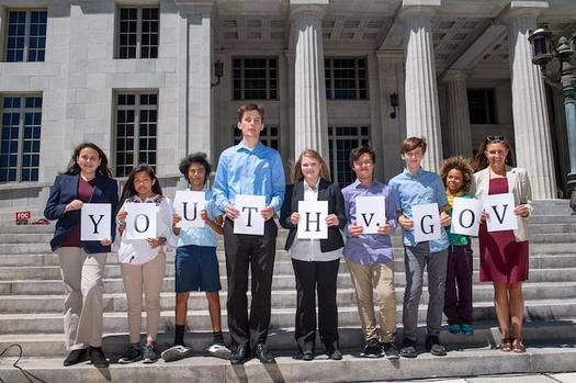 "Eight youths are suing the state of Florida and Gov. Rick Scott over climate change. They would like to see a ""climate recovery plan"" put in place. (Our Children's Trust)"