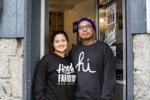 Business Impact Northwest helped Hood Famous Bakeshop, a small Filipino-inspired dessert bakery, get off the ground. (Lauren Stelling)