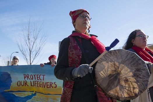 The CDC estimates Native American women are murdered at a rate of 4.3 per 100,000. (Fibonacci Blue/Flickr)