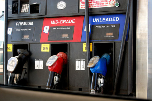 One of the bills promoted by ALEC would require stickers listing gas taxes at the pump, which critics charge is a way to turn voters against tax increases meant to fund infrastructure. (Cohdra/Morguefile)