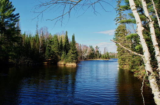 Much of Wisconsin's Northwoods is considered a highly resilient area in a changing climate. (Chumlee10/Flickr)