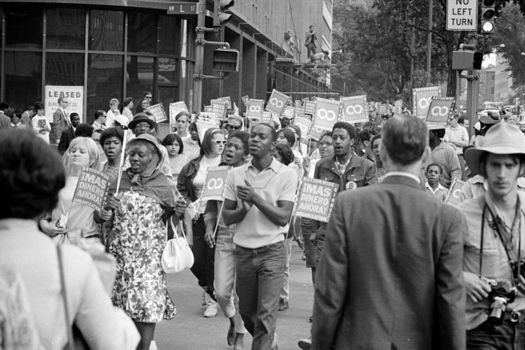 The Poor People's Campaign: A National Call for a Moral Revival recalls the campaign Martin Luther King, Jr. started in 1968. (Warren K. Leffler/Library of Congress)