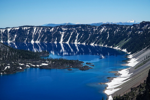 Crater Lake National Park and other parks across the country are in need of maintenance to stay safe for visitors. (alans1948/Flickr)