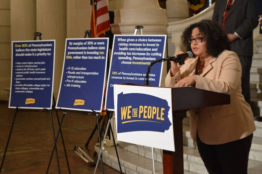 "The ""We the People"" campaign was launched in Pennsylvania's Capitol rotunda on Thursday. (We the People PA)"