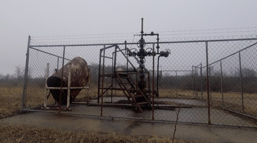 If the bill giving industry oversight over the Department of Environmental Quality is signed by Gov. Rick Snyder, conservation groups fear that more injection wells such as this one in Osceola will be permitted across the state. (Michigan Citizens for Water Conservation)