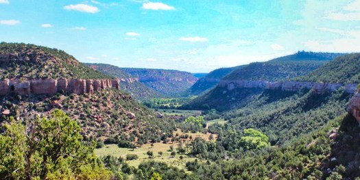 The Land and Water Conservation Fund helped negotiate a land donation to make New Mexico's Sabinoso Wilderness accessible to the public. (santafehorse.org)