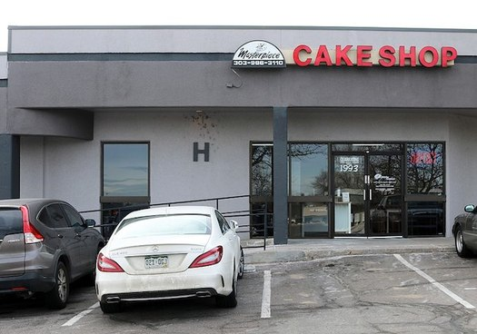 U.S. Supreme Court Justices Ruth Bader Ginsburg and Sonia Sotomayor noted in Monday's decision that  cakeshop owner Jack Phillips violated Colorado's anti-discrimination law. (Jeffrey Beall)