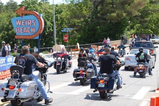 New Hampshire's popular motorcycle week continues through Father's Day. (Ray Cunningham)