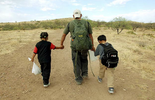 "The Children's Defense Fund calls the Trump administration's ""zero tolerance"" policy that separates children from their parents at the border ""indefensible child abuse."" (capsweb.org)"