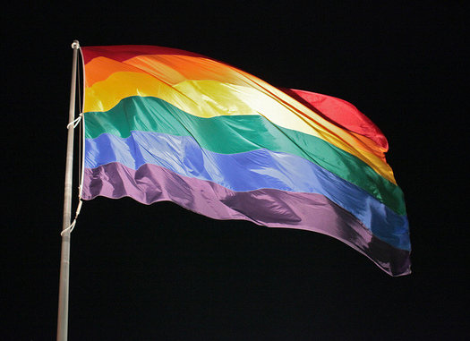 The Human Rights Campaign says policies that promote inclusive school atmospheres are key to protecting LGBTQ teens' well-being. (torbakhopper/Flickr)