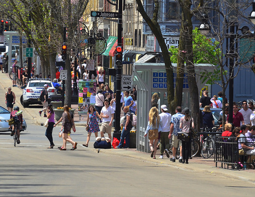 Madison is highlighted in a new scorecard as a city where resident involvement is high, a positive factor in overall livability. (Richard Hurd/Flickr)